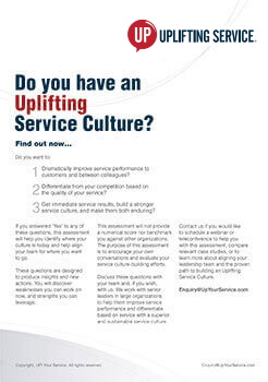 Brochure Culture Assessment